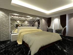 bedroom set interior design di glodok, jakarta barat