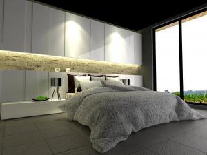 bedroom set interior design di pejompongan, jakarta barat