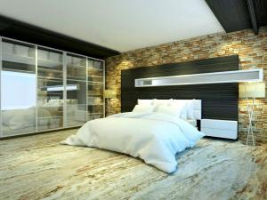 bedroom set interior design di pinangsia, jakarta barat