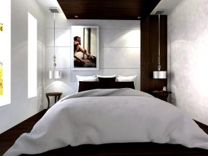 bedroom set interior design di tambora, jakarta barat
