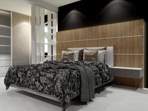 bedroom set interior design di krukut, jakarta barat