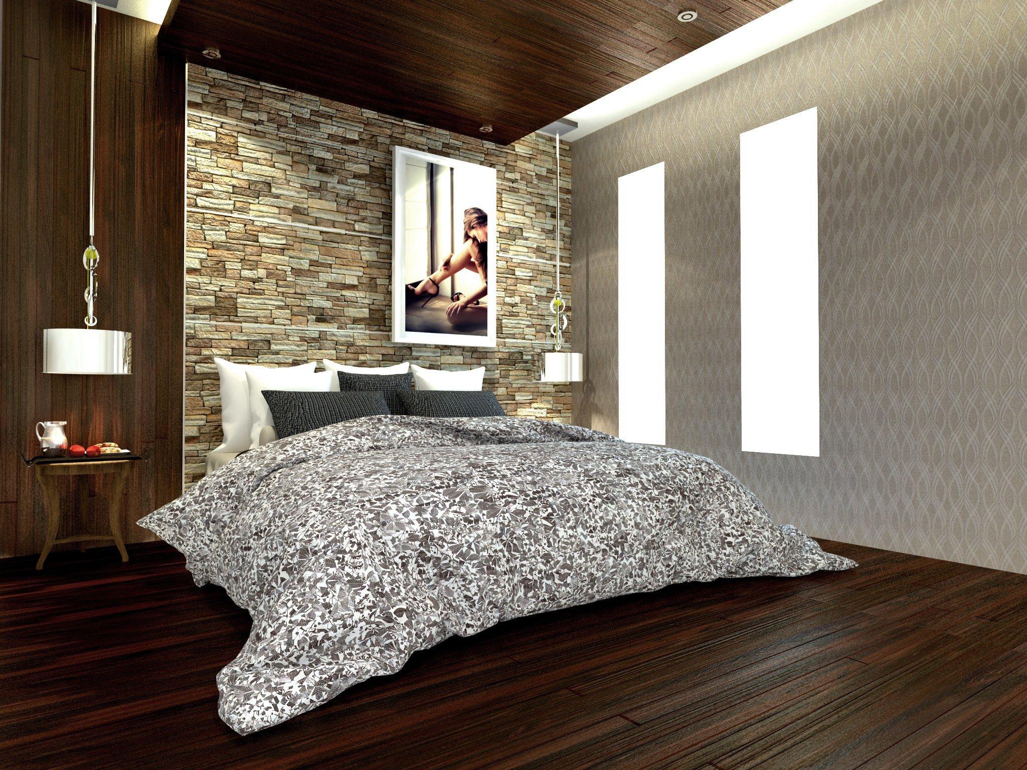 bedroom set interior design di meruya utara, jakarta barat