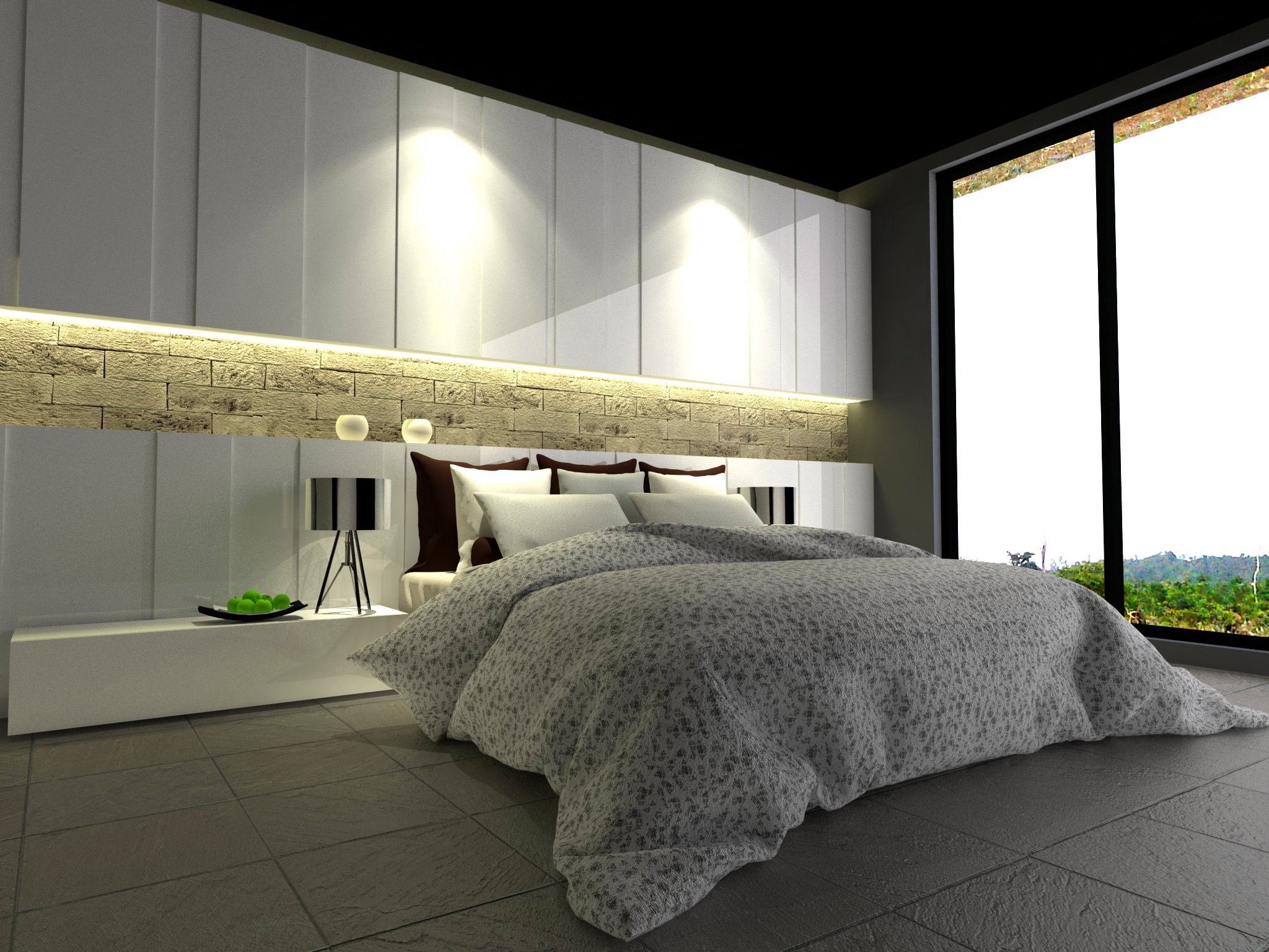 bedroom set interior design di penjaringan pluit, jakarta utara