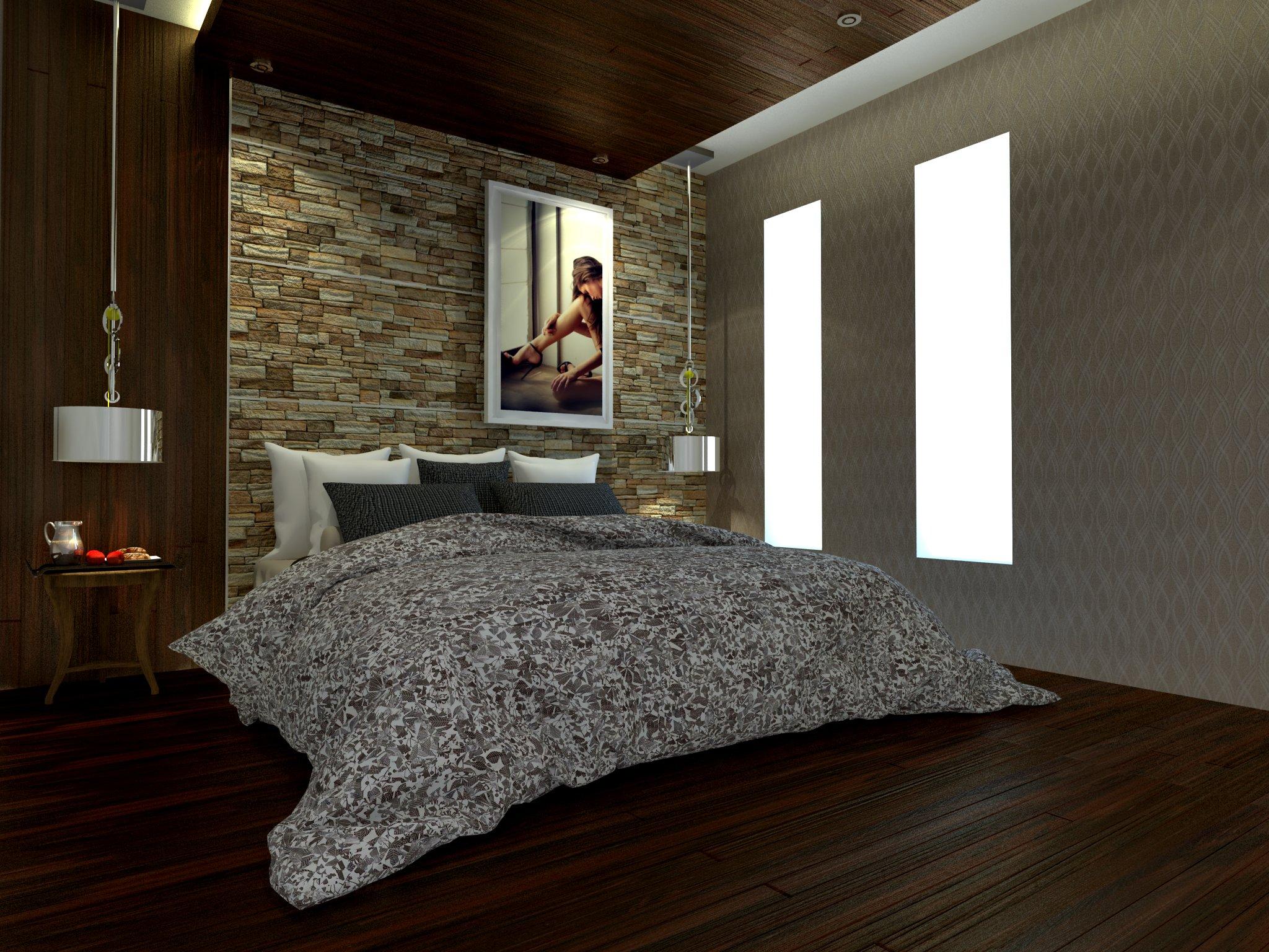 bedroom set interior design di jembatan besi, jakarta barat