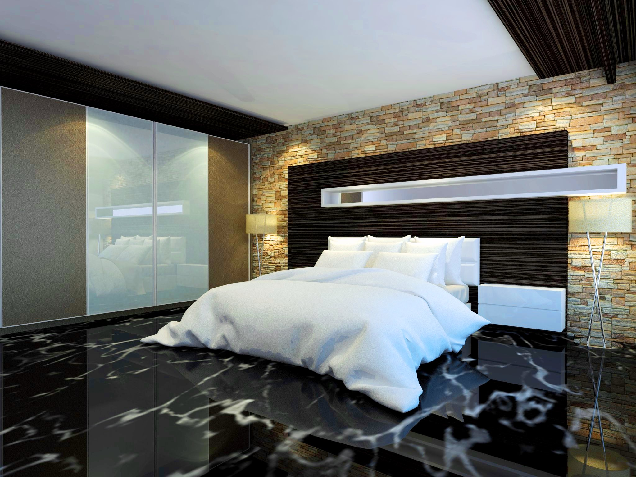 Interior desain apartemen di kapuk, jakarta utara